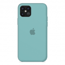 Силиконовый чехол Apple Silicone Case Sea Blue для iPhone 12 Mini