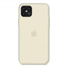Силиконовый чехол Apple Silicone Case Antique White для iPhone 12 Pro Max