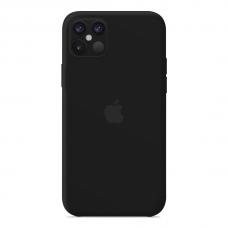 Силиконовый чехол Apple Silicone Case Black для iPhone 12 Pro Max
