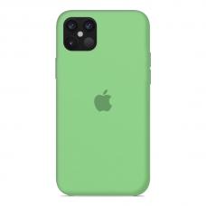 Силиконовый чехол Apple Silicone Case Salad для iPhone 12 Pro Max