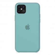 Силиконовый чехол Apple Silicone Case Sea Blue для iPhone 12 Pro Max