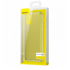 Силиконовый чехол Baseus Simple Case для iPhone 12 Max прозрачный