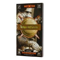Защитное стекло Moxom для iPhone 7 Plus / 8 Plus белого цвета