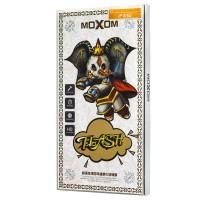 Защитное стекло Moxom для iPhone 6/6s черного цвета