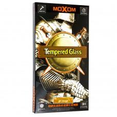 Защитное стекло Moxom для iPhone 7/8 черного цвета