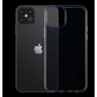 Силиконовый чехол Silicone Clear Case для iPhone 12 Pro