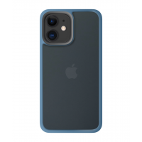 Чехол Rock Guard Pro Skin для iPhone 12 Midnight Blue