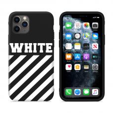 """Силиконовый кастомный MagCase чехол для iPhone """"Off-Stripes"""""""
