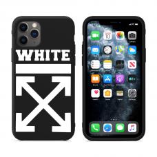 """Силиконовый кастомный MagCase чехол для iPhone """"Off-White"""""""