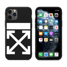 """Силиконовый кастомный MagCase чехол для iPhone """"Off-White Logo"""""""