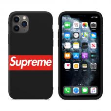 """Силиконовый кастомный MagCase чехол для iPhone """"Supreme"""""""