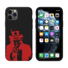 """Силиконовый кастомный MagCase чехол для iPhone """"Red Sam"""""""