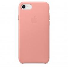 Кожаный чехол Apple Leather Case Soft Pink для iPhone 7/8
