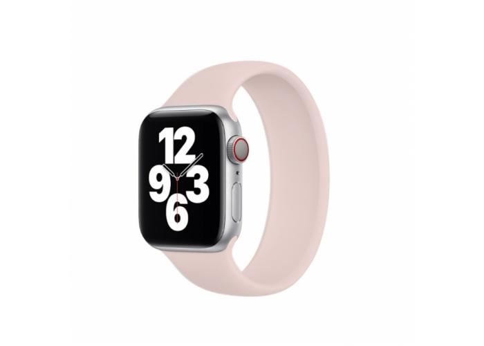 Монобраслет Solo Loop для Apple Watch 38/40/42/44мм Pink (копия)