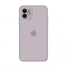 Силиконовый чехол Apple Silicone Case Lavander для iPhone 11 с закрытой камерой