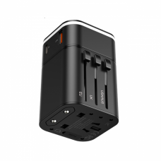 УСЗУ Baseus Removable 2in1 universal travel adapter  PPS Quick Charger Edition Black
