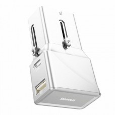УСЗУ Baseus Universal ( 4 в 1 ) conversion plug PPS charger C+U 18W Youth Edition White