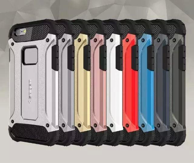 promo code 54800 8d19d Чехол для iPhone 6 Plus/6s Plus Spigen Tough Armor Tech розовый